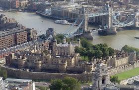 La tour de Londres et le Tower Bridge