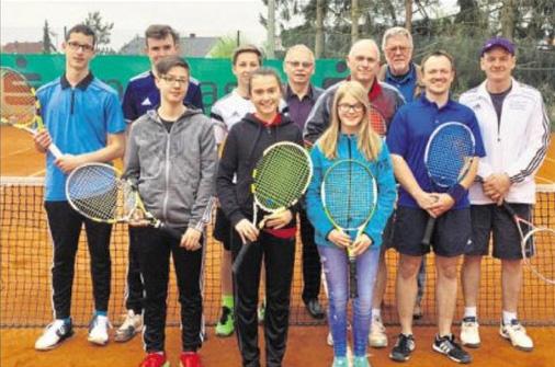 Der Spaß stand beim Schleiferlturnier der Tennisabteilung im Vordergrund.