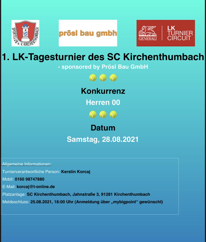 Tennisabteilung veranstaltet erstmals LK-Turniere - Was ist LK?!