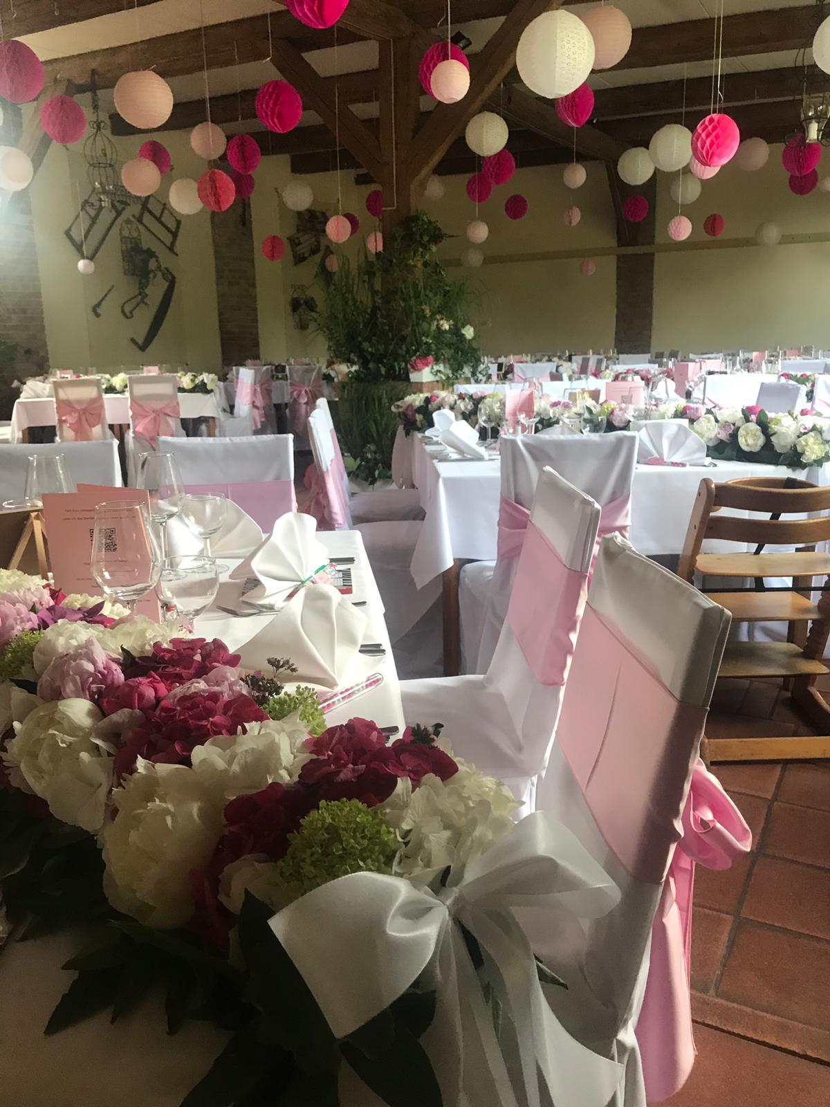 Festliche Hochzeitstafel Hotel Alte Försterei Kloster Zinna