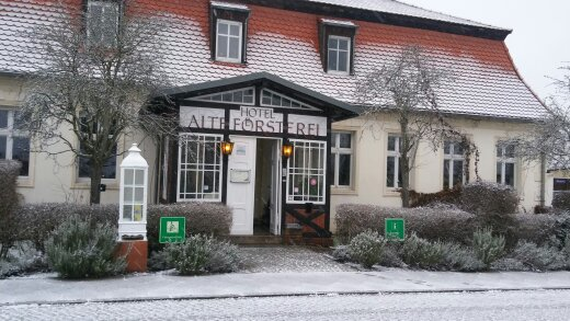 Hotel Alte Försterei Kloster Zinna im Winter