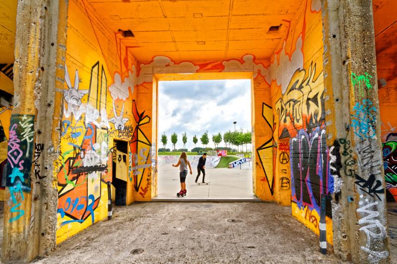 """RheinPark Duisburg (7-33432)"" - Copyright by Franz Walter"