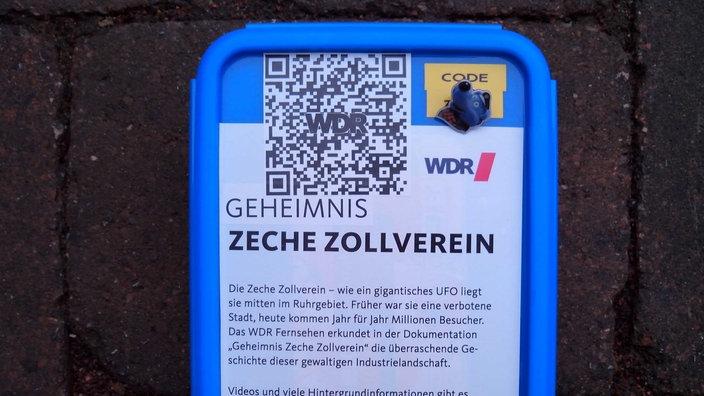 Foto: WDR - Geocaching - geheimnisvolle Orte