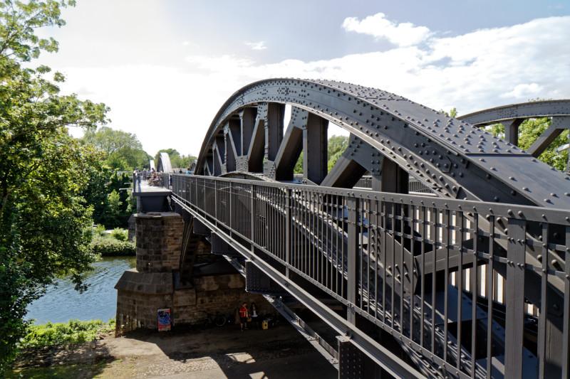 """""""Radschnellweg RS1 Brücke in Mülheim/Ruhr (7-57712)"""" - Copyright by Franz Walter"""
