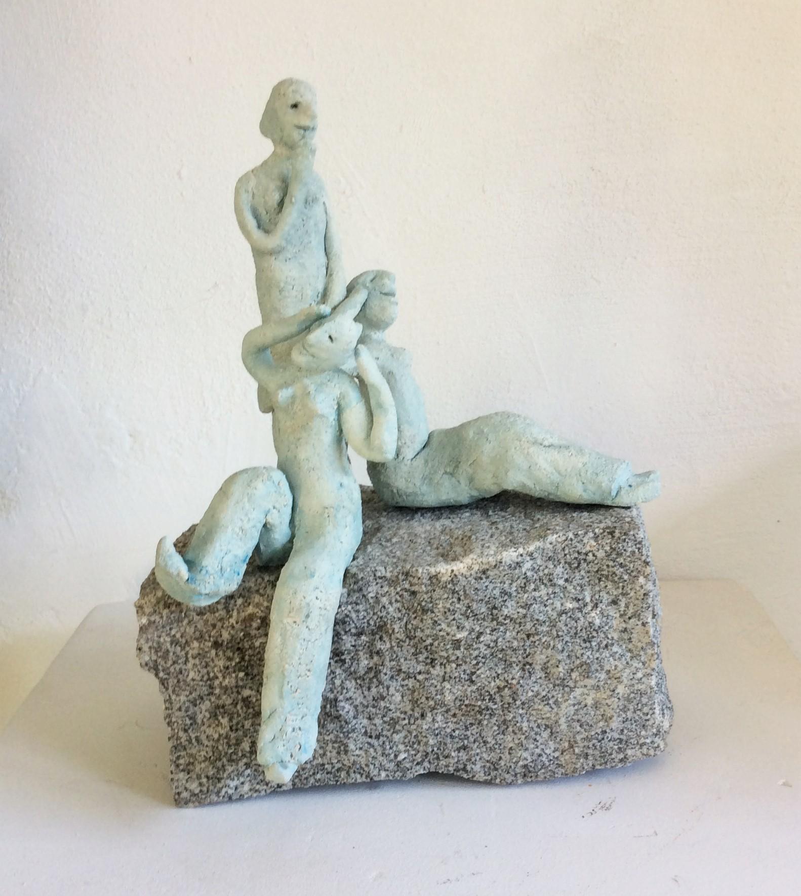 Kapriolen      Ton/Stein      ca 35 x30 x15cm