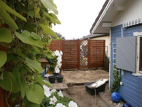 Der hintere Gartenbereich bekommt jetzt viel mehr Raum und eine ganz andere optische Tiefe