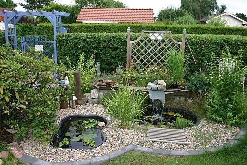 So sah der Gartenteichbereich noch im letzten Jahr aus