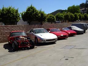 64 JAGUAR XKE 6 CYL, FERRARI 456 GTA,TESTAROSSA, 97 FERRARI 355 SPYDER