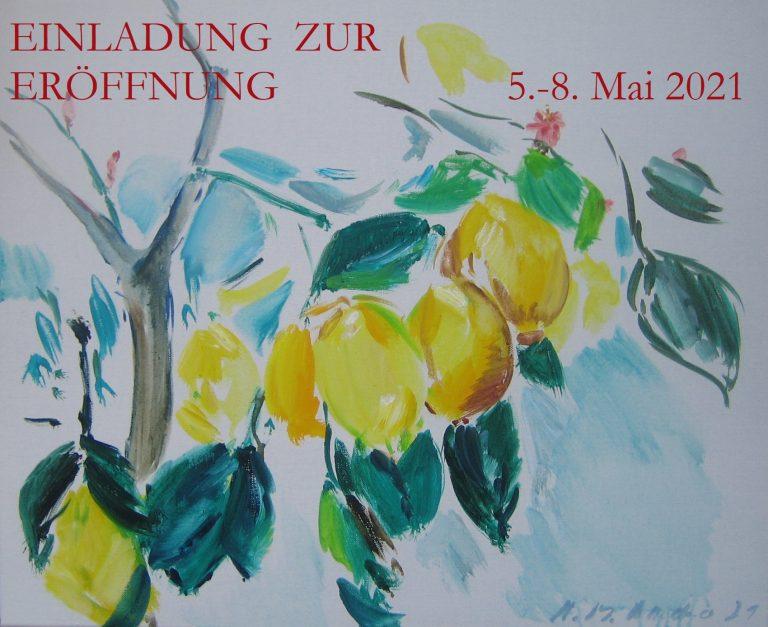 Neue Galerie  in Salzburg - neue Arbeiten gleich dabei