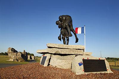 Parc mémorial australien à Fromelles (à 5 kms)