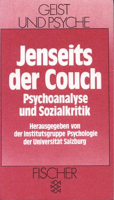 Institutsgruppe Psychologie der Universität Salzburg (Hg.) Jenseits der Couch