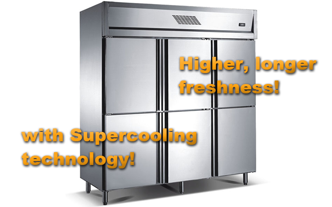 Higher, longer freshness! with Supercooling technology!