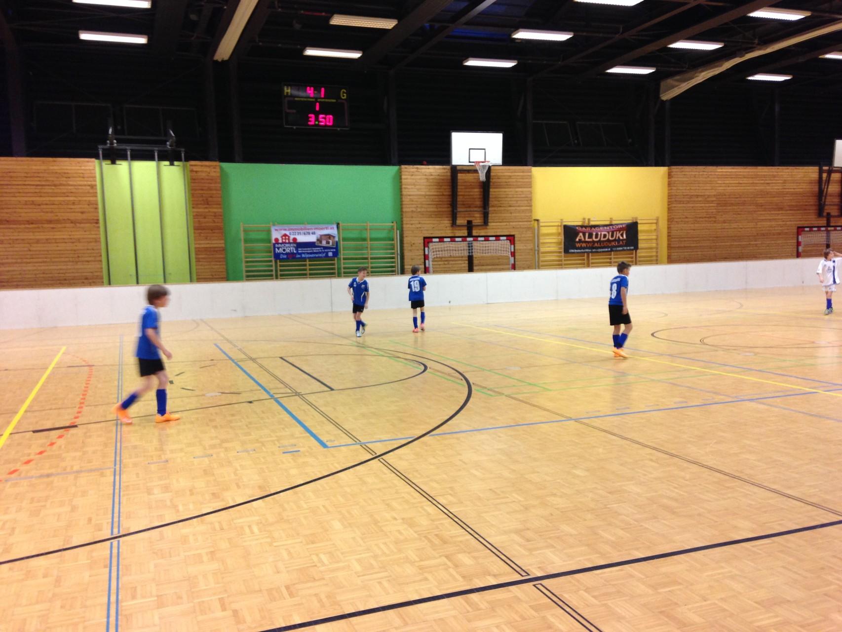 Hallenturnier SK Breitenfurt - 2.Platz