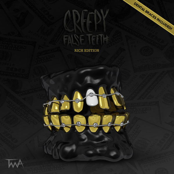 Creepy False Teeth - Rich edition