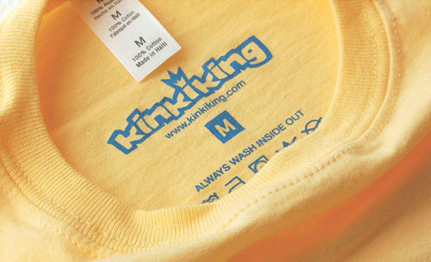 Logotype on T-shirts - Silkscreen