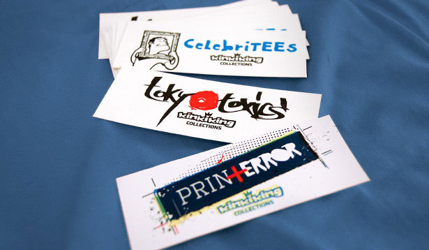 T-shirt label - diferent collections