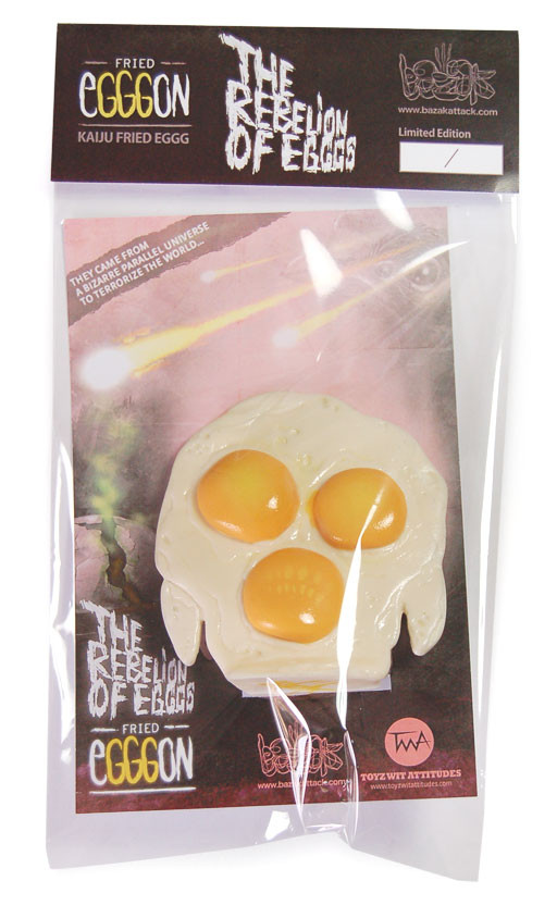 Packaging Fried Egggon
