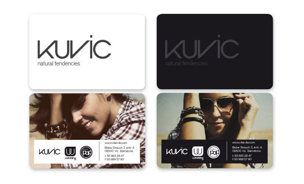 Kuvic Business Cards