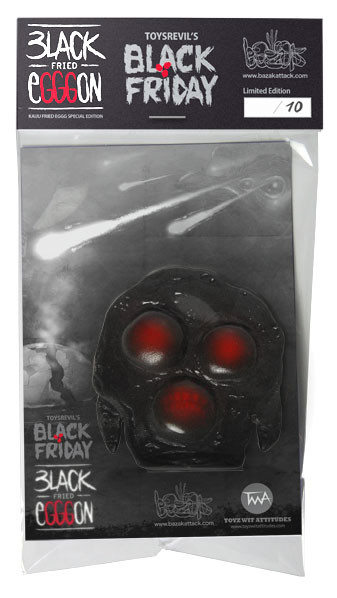 Packaging Black Fried Egggon