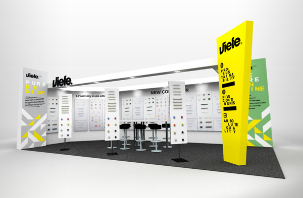 3D - Viefe Stand design