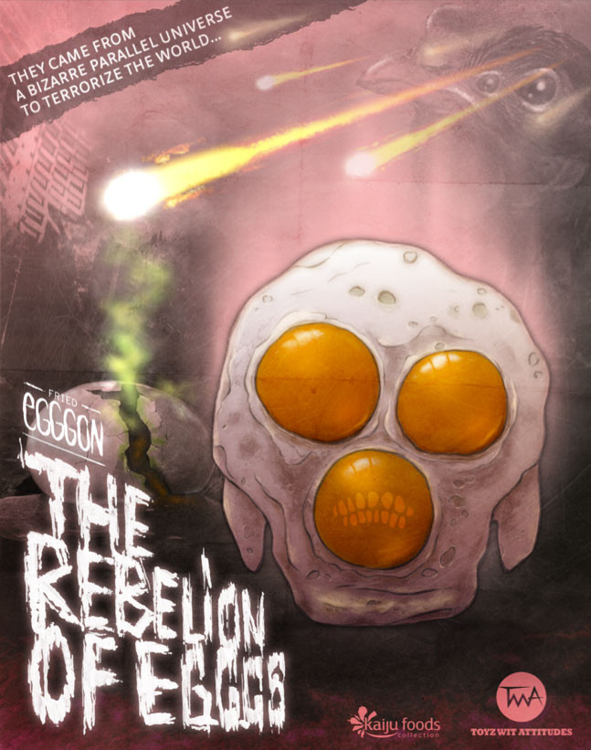 Poster Fried Egggon