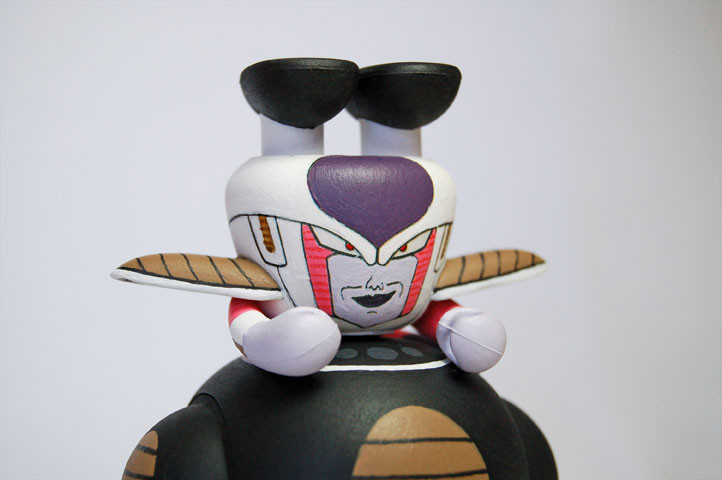 frieza - freezer CE detail