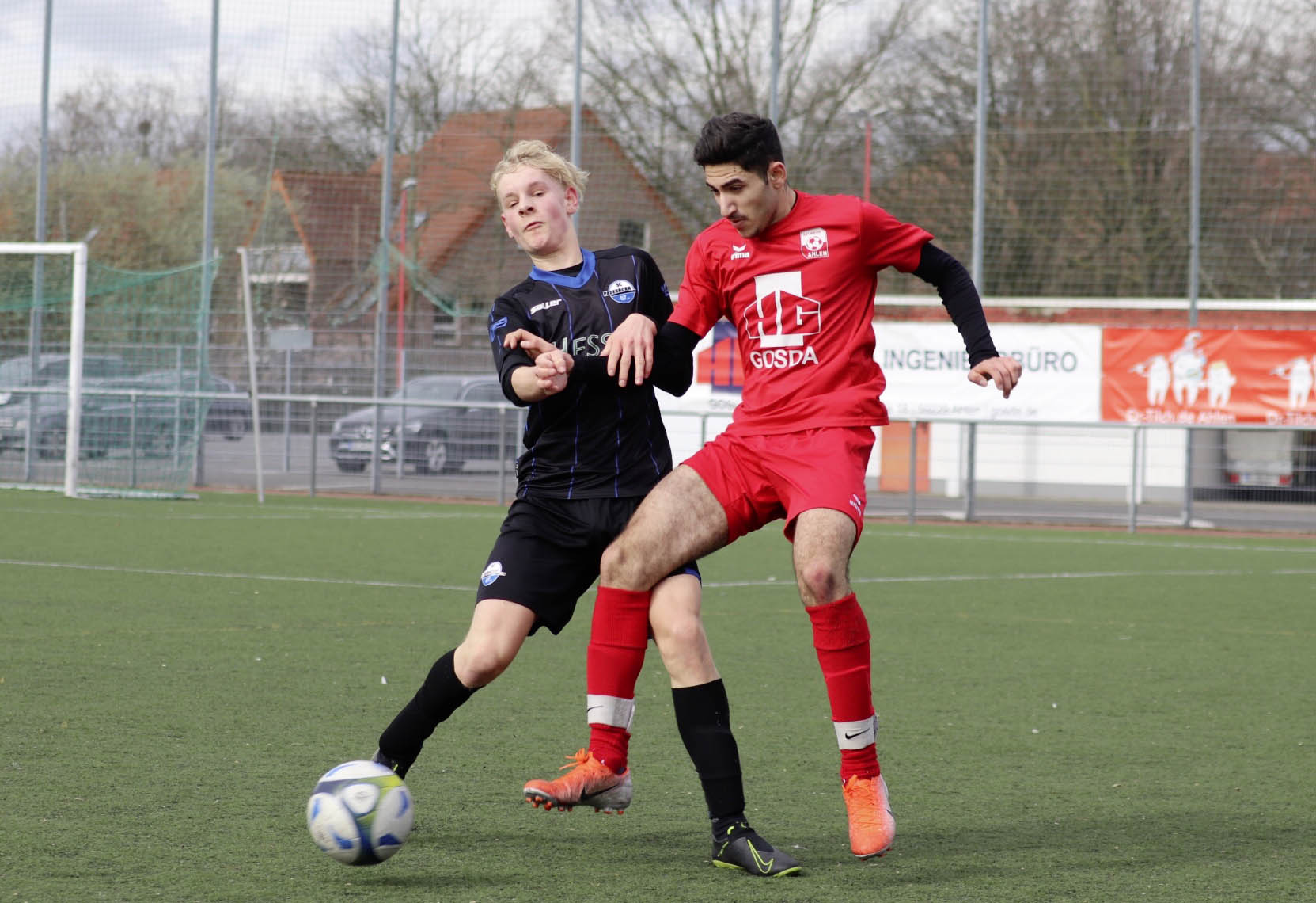 Rot Weiss Ahlen U17 B1 gegen Paderborn II