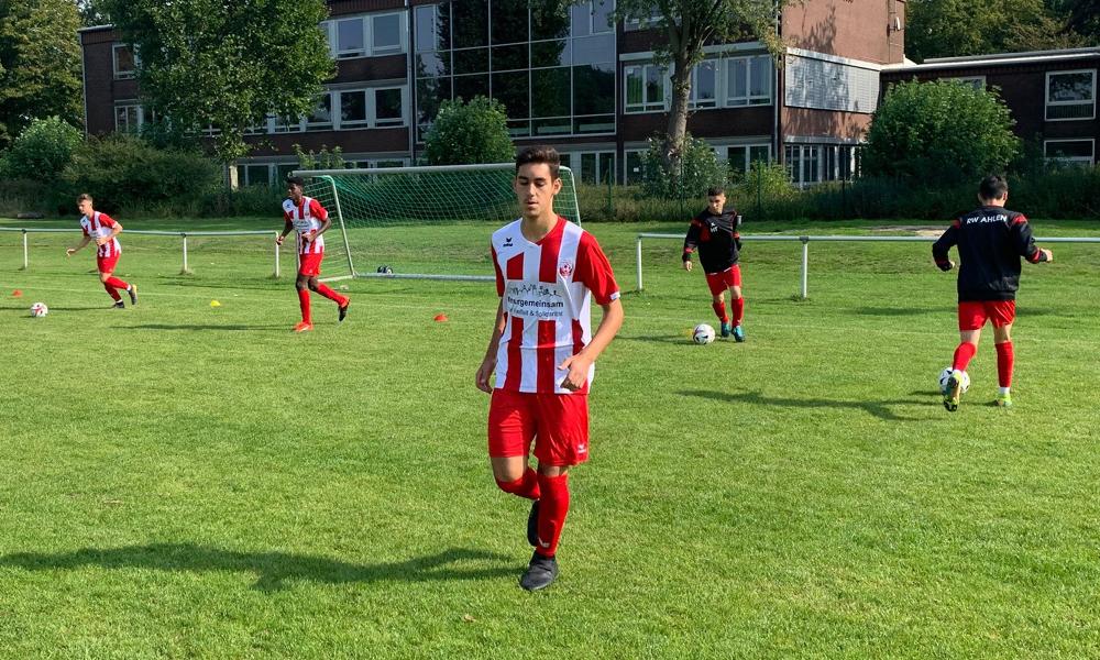 Spielbeginn in Ascheberg