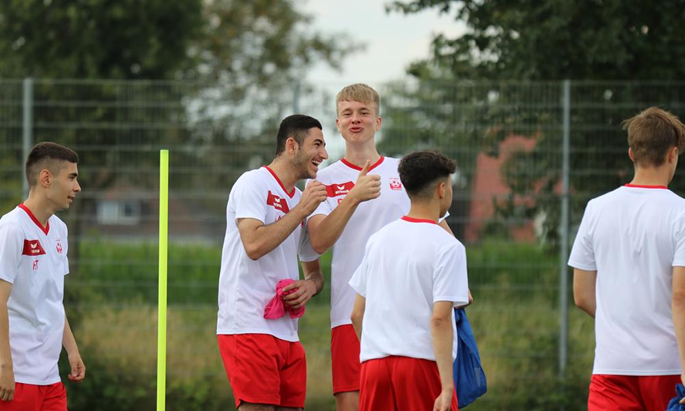 Gute Stimmung herrschte beim Trainingslager in der Sportschule Kaiserau