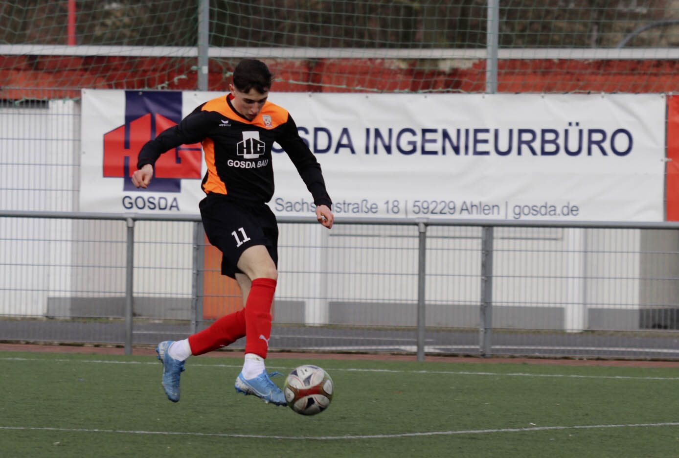 Rot Weiss Ahlen U16 B2 gegen Heide Paderborn