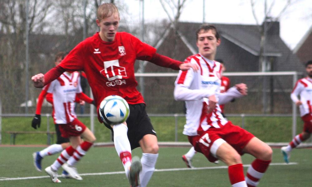 Zweifacher Torschütze, Niklas Rauh