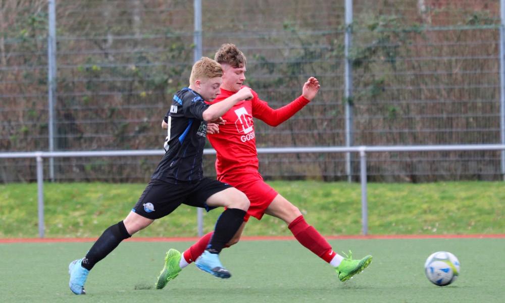 Rot Weiss Ahlen U17 B1 gegen Paderborn 07 II; Fotos von Sarah Wick