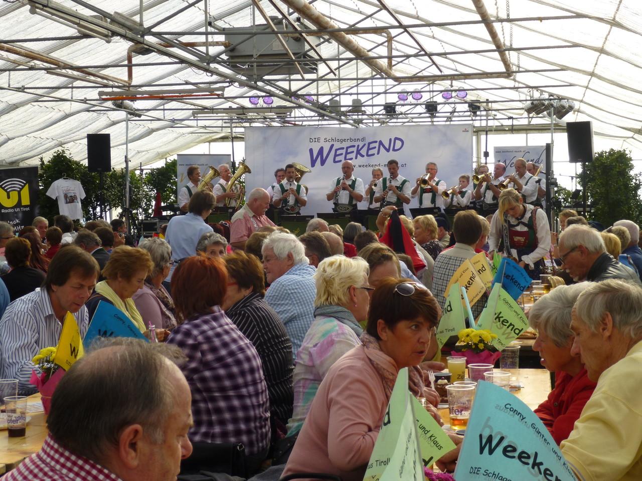 Frühschoppen beim 8. Weekend-Fest (c) Werner Daum