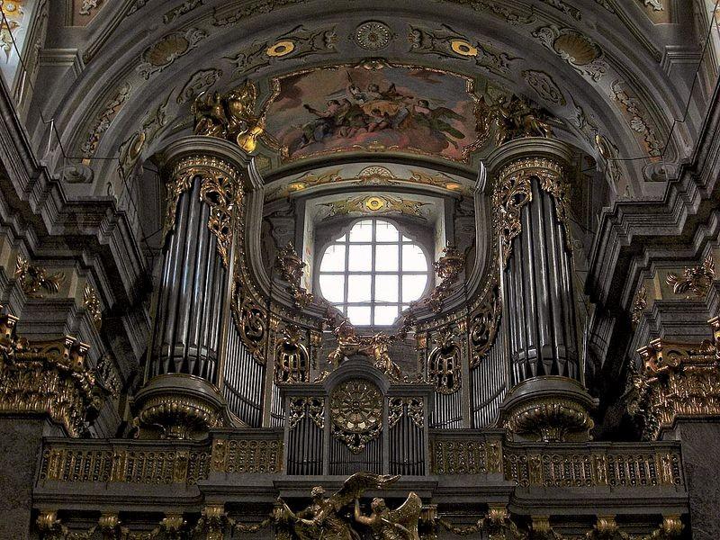 Die berühmte Barock-Orgel der Basilika Sonntagberg
