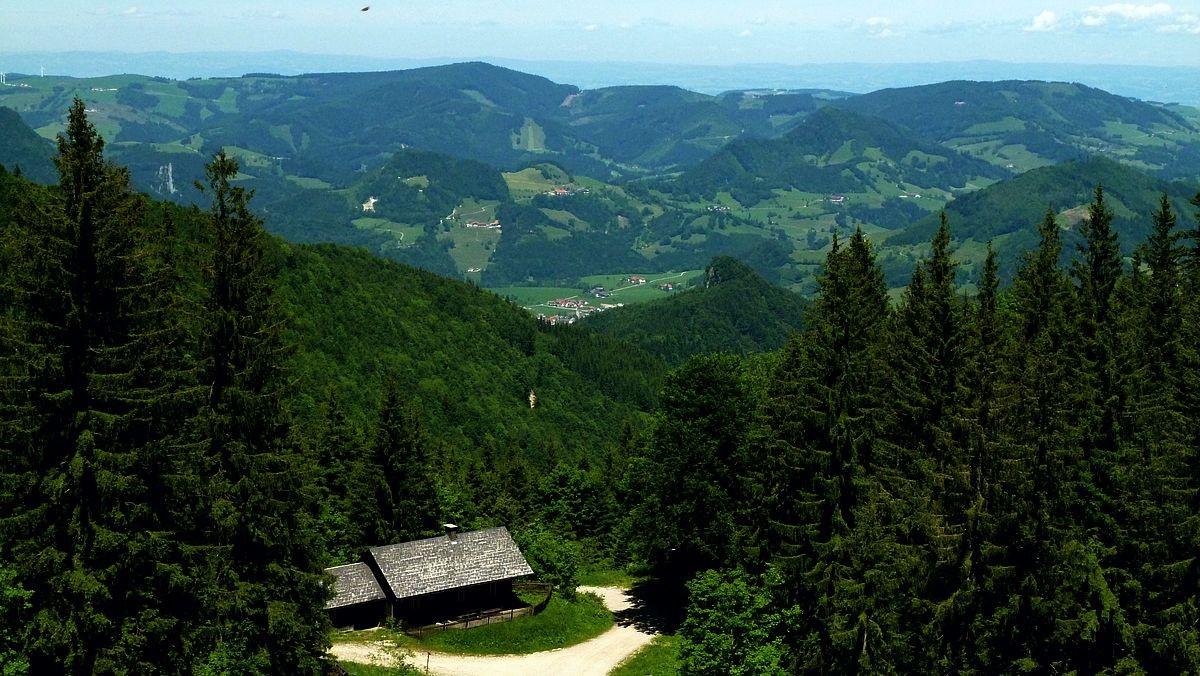 Jagdhütte vom Steig zur Ennser Hütte