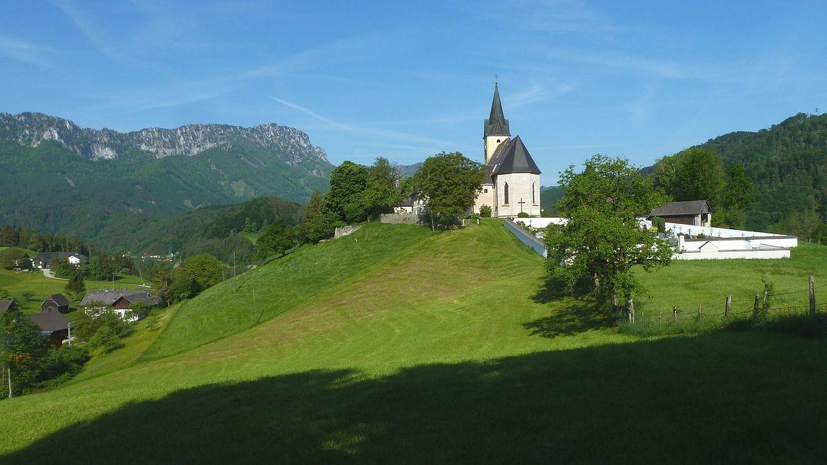 18.05.2015: Wallfahrtskirche Frauenstein von Osten