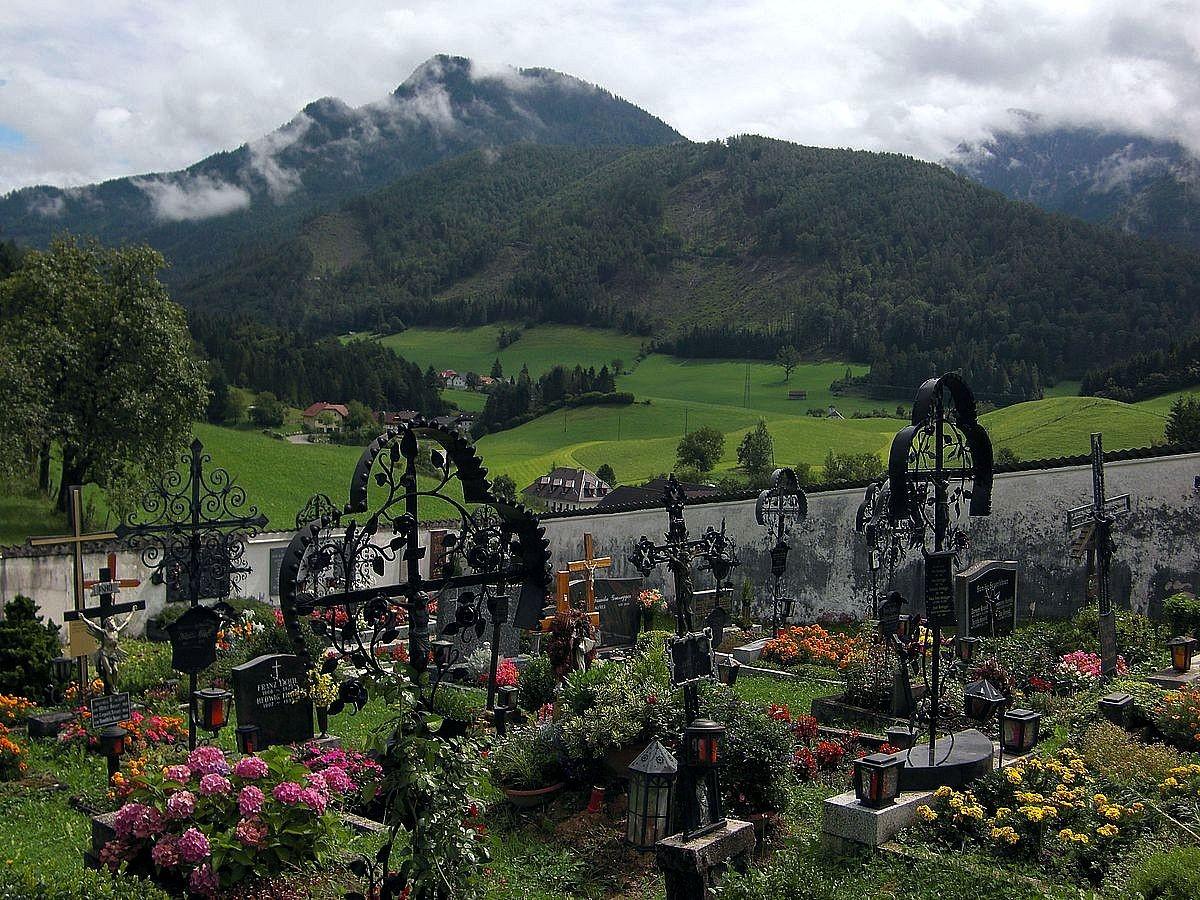 Friedhof der Wallfahrtskirche Frauenstein