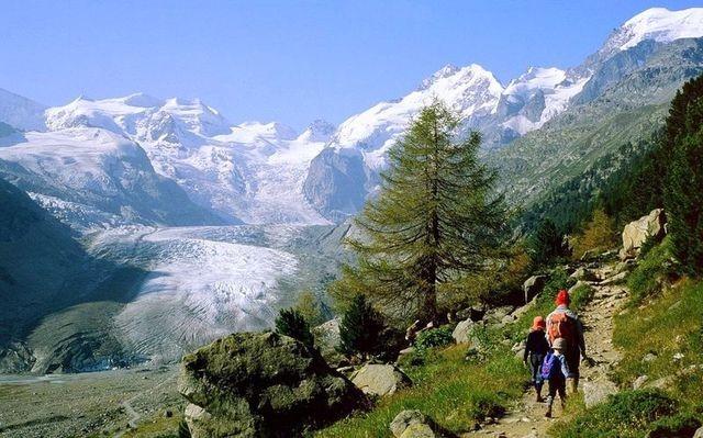 Bernina - Weg zur Bovalhuette