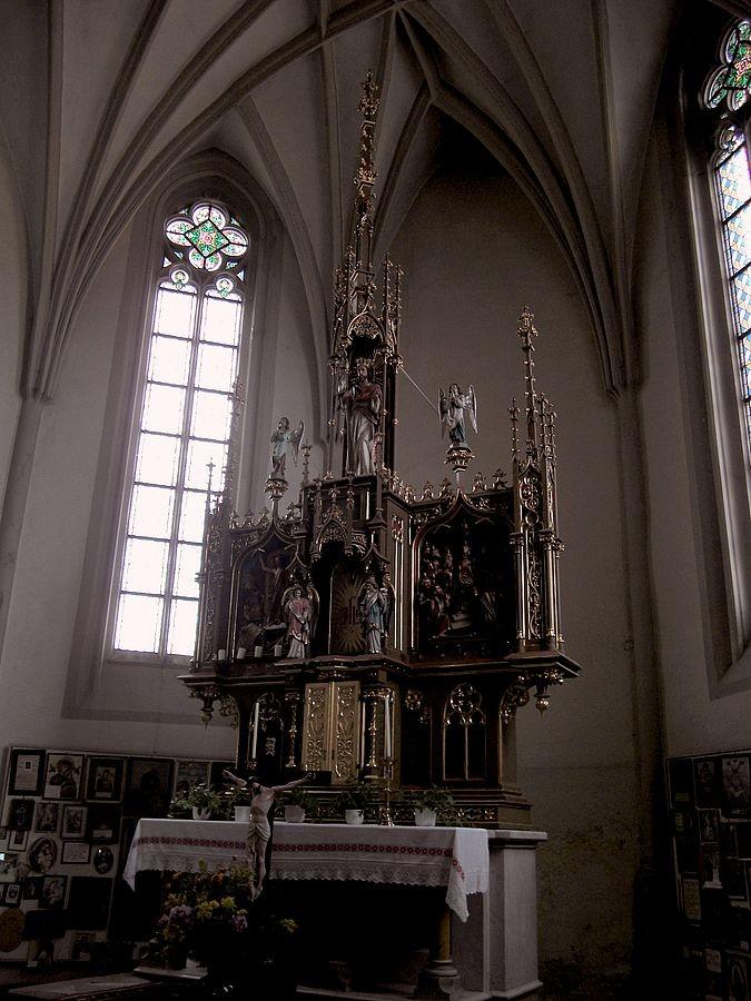 Seitenaltar in der Neustifter Kirche