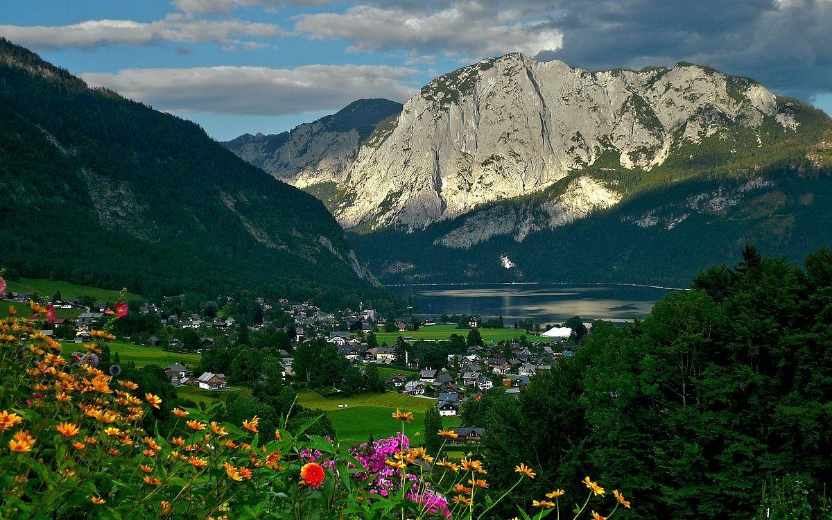 Altausseer See und Trisselwand von Liechtersberg