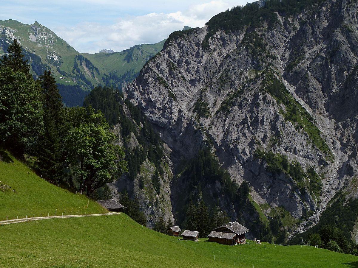 Alpsiedlung Hintersteinbild