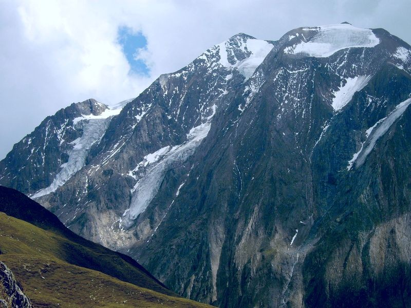 Foto von 2007 mit JAKUMO DIGITAL KAMERA: Hochferner Nordwand vom Pfitscherjoch