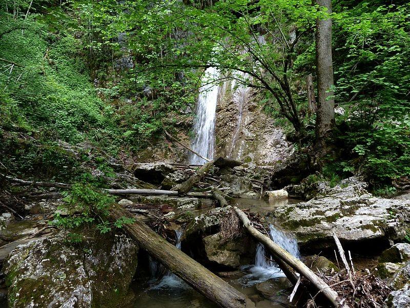 Der Wasserfall in der Holleiten