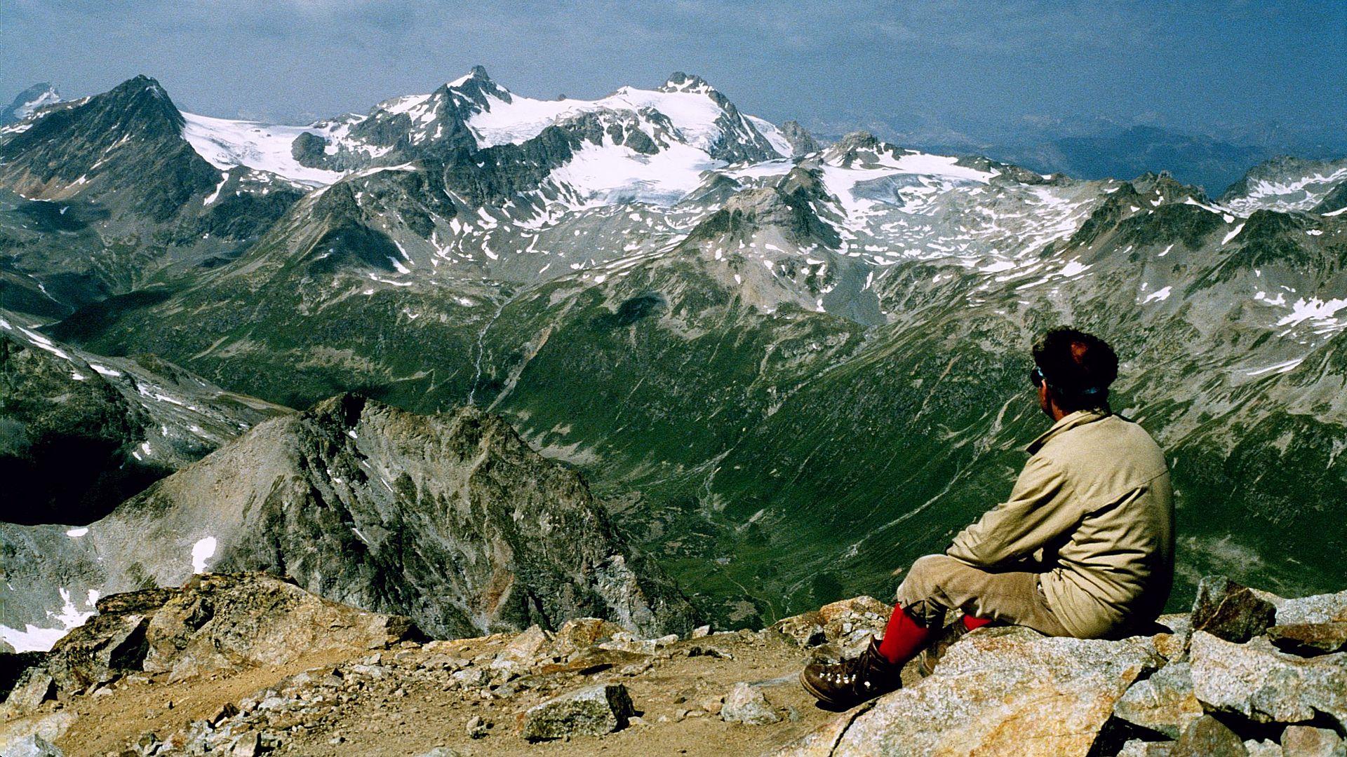 Piz Ot 3246 m Albulaberge Oberengadin