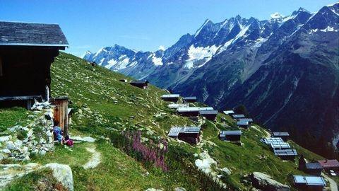 Lötschentaler Höhenweg- Lauchernalp - Fafleralp - Gletscherstafel