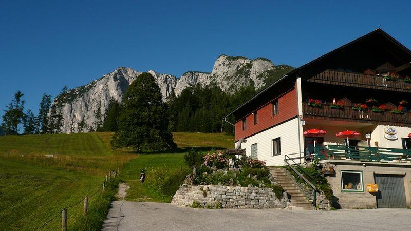 Der Gasthof Trisselwand - Ausgangspunkt für die Bergtour auf den Trisselberg