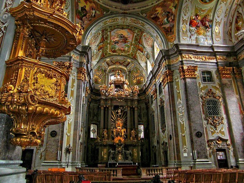 Der Hochaltar in der Basilika Sonntagberg