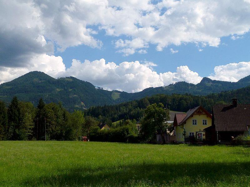 Landschaft bei Gams