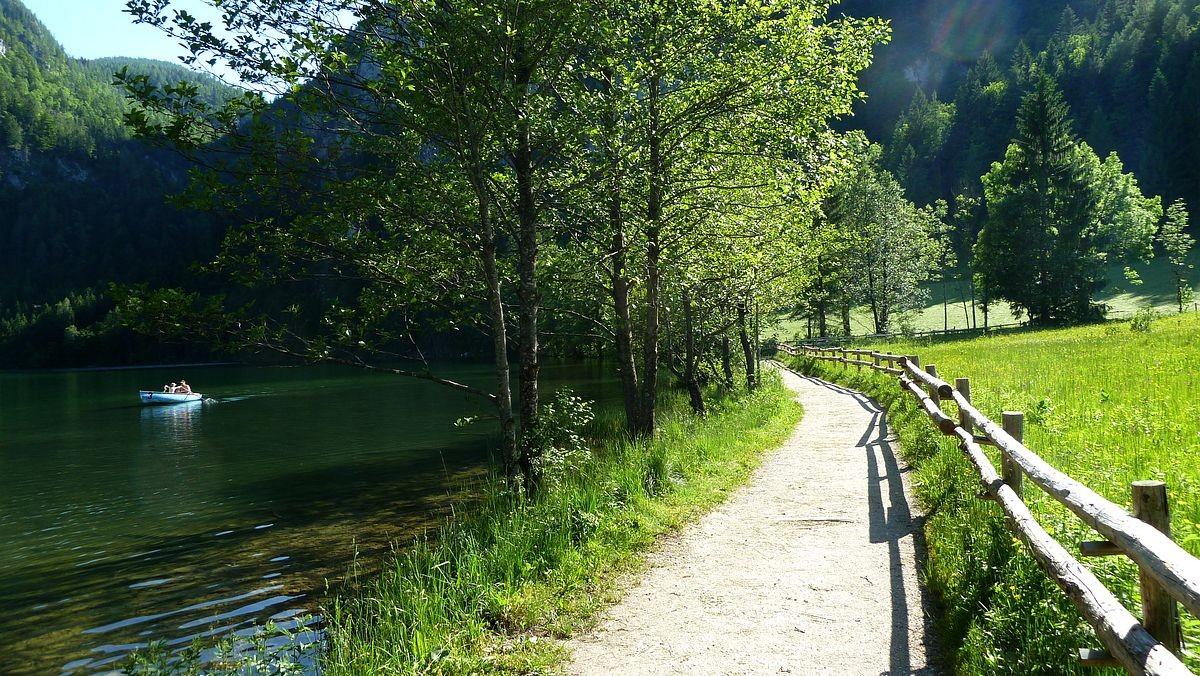 Der Uferweg um den Gleinkersee