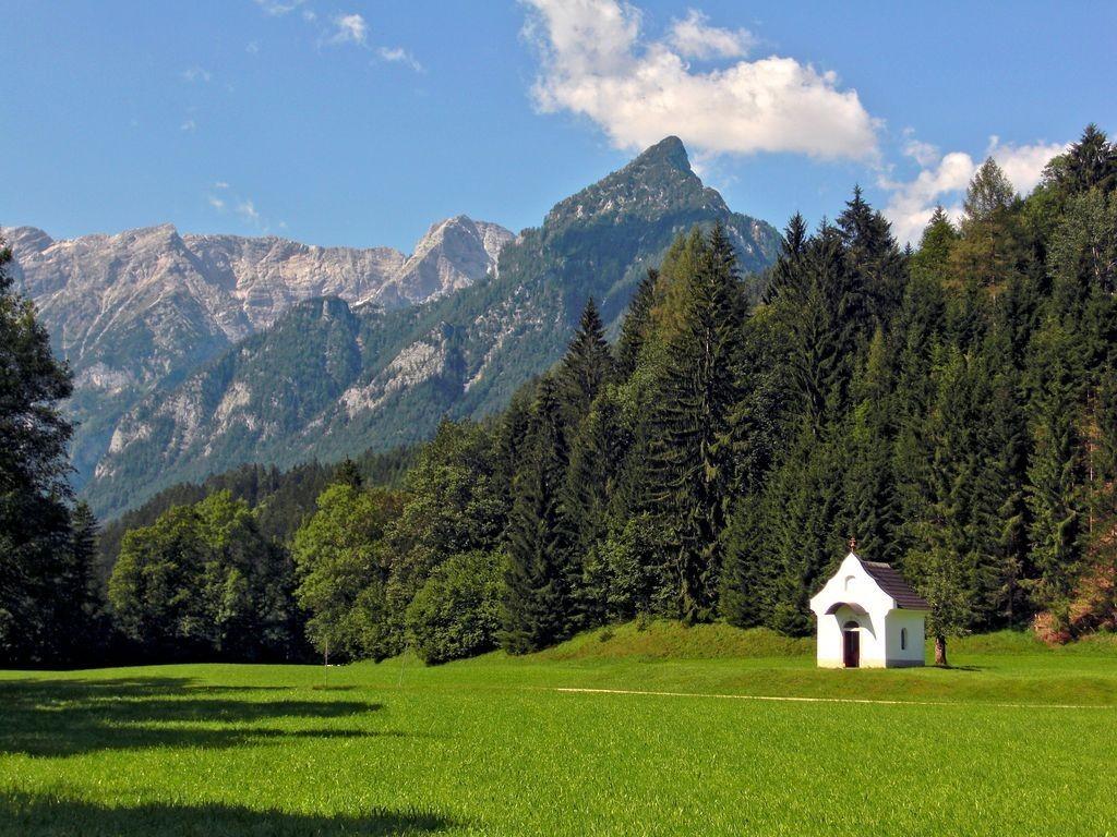 Kapelle am Wanderweg von Hinterstoder zum Schiederweiher